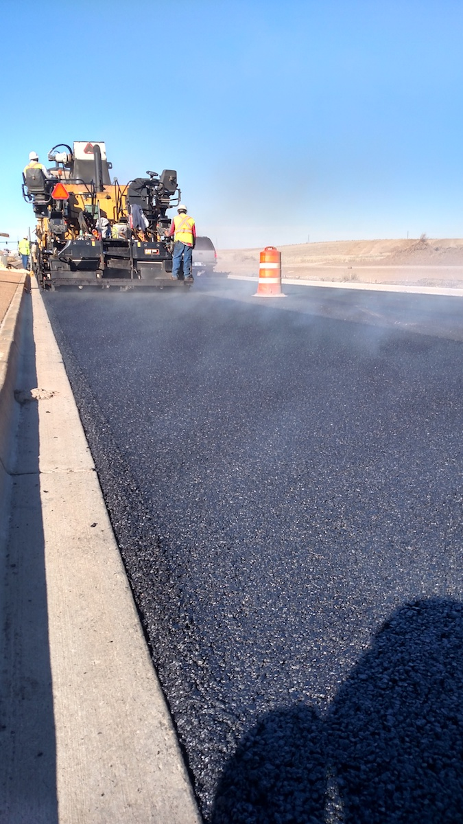 Smooth paving operations