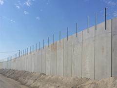 TechWall is a precast counterfort retaining wall system