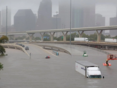 Hurricane Harvey aftermath in Houston