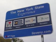 I Love NY sign