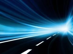 high-speed transit tunnel