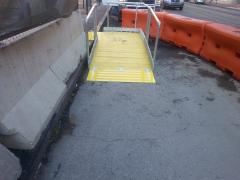 PSS Boardwalk Ramp and platform
