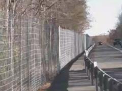 VDOT wildlife fence