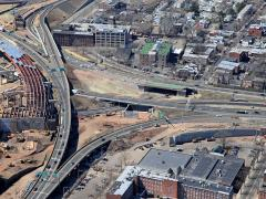 In the principal transit corridor between New York and Boston, the interchange of I-95, I-91 and S.R. 34 in New Haven, Conn., is heavily travelled, to say the least.