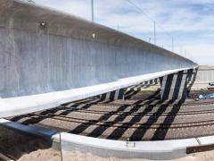 Building a bypass bridge off Highway 30 in Nebraska.