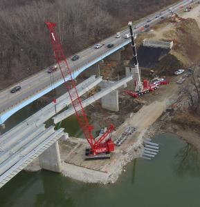 Lafayette, Ind., bridge