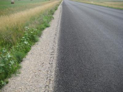 Gravel road maintenance