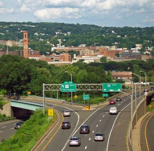 "The Connecticut Department of Transportation (CDOT) has announced plans for an upcoming project on an 8-mile stretch of I-84 between Exits 3 and 8, as part of its ""Let's Go CT"" initiative, a 30-year, $100 billion transportation investment plan."