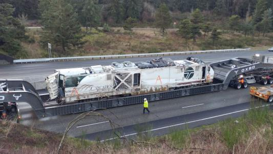 I-5 derailment in Washington State
