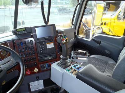 SpreadSmart Rx installed in an ITD snowplow truck