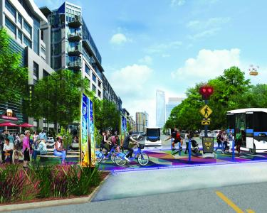 The Downtown Tampa Autonomous Transit Project will be funded by the Florida Department of Transportation