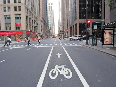 Chicago bicycle program complete streets
