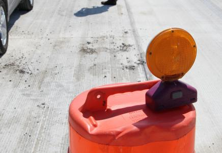 The agency is renovating worn bridges with a high-pressure water jet system