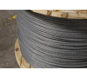high-strength zinc-galvanized or Bezinal-coated barrier cable