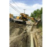 Gradall on/off-pavement wheeled excavators