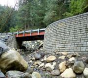 Redi-Rock Engineered retaining wall system