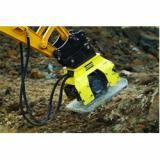 Atlas Copco Construction Tools 409 and HC 920 hydraulic compactor attachments