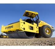 BOMAG's new 11 ton class single drum vibratory roller, the BW211-50