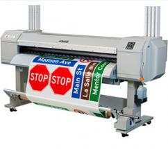 TrafficJet is a new inkjet printing system that digitally prints traffic control and other custom signage on a just-in-time basis.