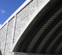 Arch bridge system