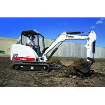 329 entry-level compact excavator